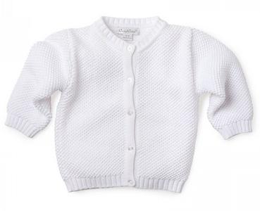 Kissy Kissy White Knit Cardigan