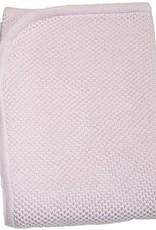 Kissy Kissy Pink Knit Blanket