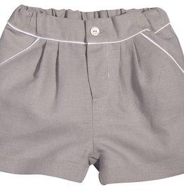 Patachou Grey Linen Short