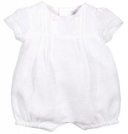 Patachou White Linen Baby Shortie