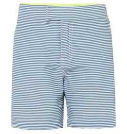 Sunuva Boys Tailored Navy Stripe Swimshort