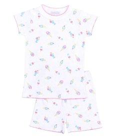Magnolia Baby Summer Treats Short PJ's