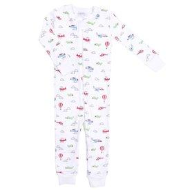 Magnolia Baby Little Pilot Zip Pajama