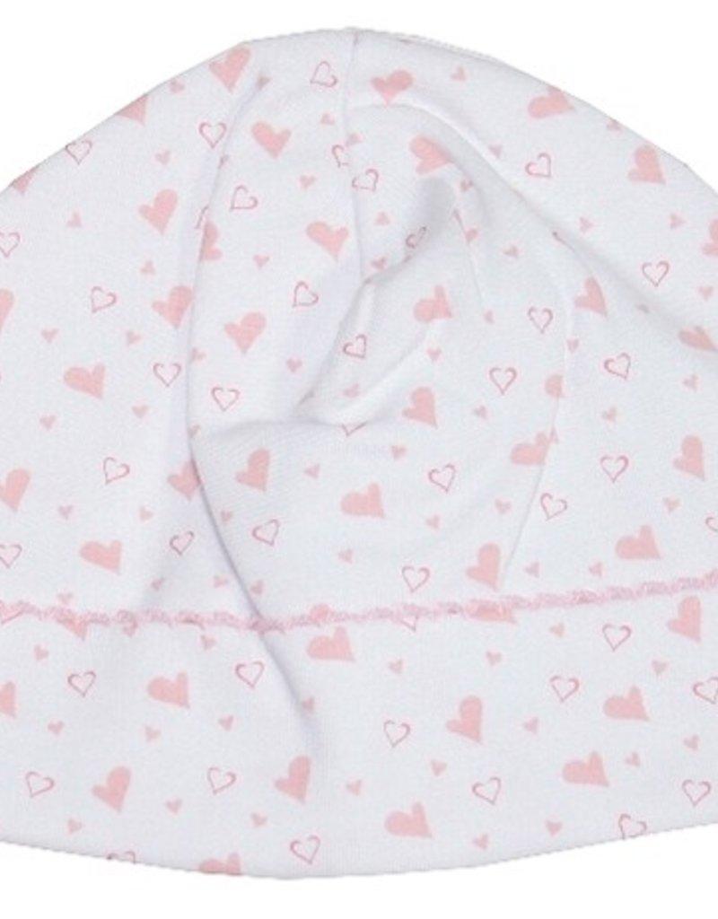 Kissy Kissy Hearts & Stars Pink Hat