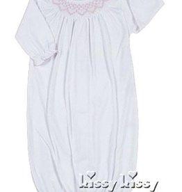 Kissy Kissy Pink & White Bishop Sack