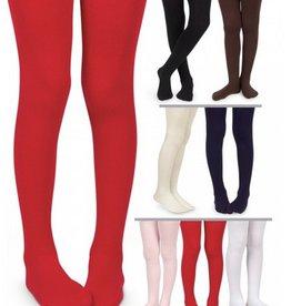 Jefferies Smooth Microfiber Legs Red 18-24m