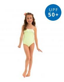 Girl's Pom Swimsuit