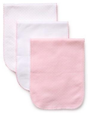 Kissy Kissy 3pk Burb Pink Dot