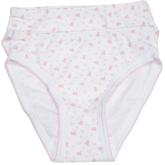 Kissy Kissy Hearts & Stars 2 Pack Panties
