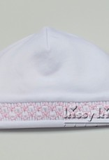 Kissy Kissy Pink & White Bishop Hat