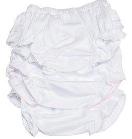 Kissy Kissy 3PK Diaper Cover White