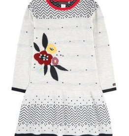Catimini Graphic Knit Dress