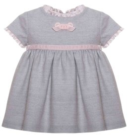 Patachou Pale Pink & Grey Dress