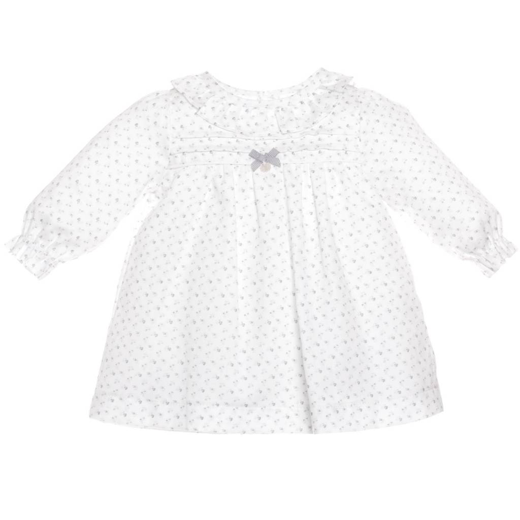 Patachou Grey & White Print Dress