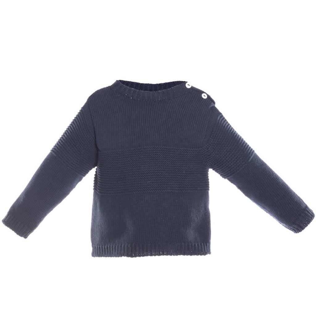 Patachou Marine Sweater