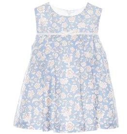 Patachou Blue Floral Dress