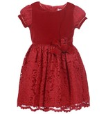 Patachou Red Lace Dress