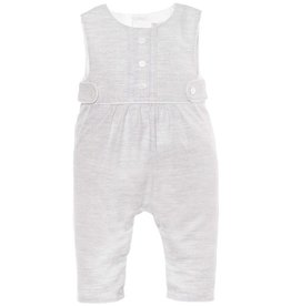Patachou Heather Grey Romper