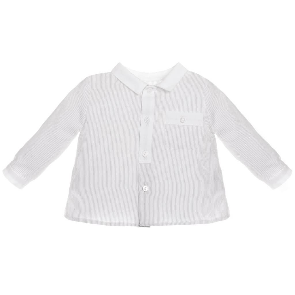 Patachou Grey Stripe Shirt