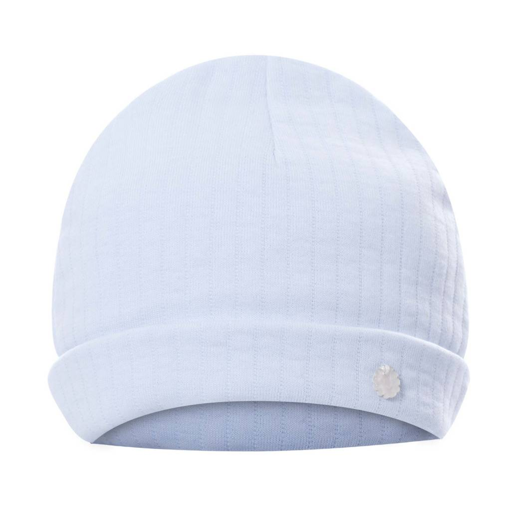 Patachou Blue Quilted Hat