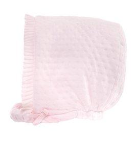 Patachou Pink Quilted Bonnet