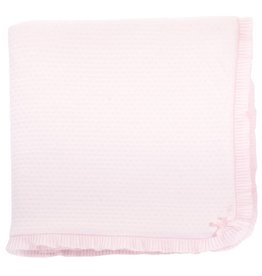 Patachou Pink Quilted Blanket