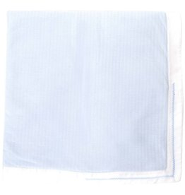 Patachou Blue Quilted Blanket