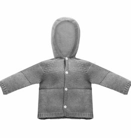 Patachou Grey Sweater Hoodie