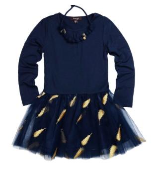 Imoga Samantha Feather Dress