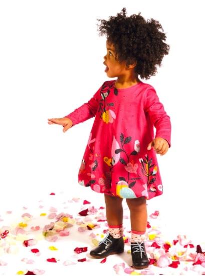 Catimini Graphic Bubble Dress