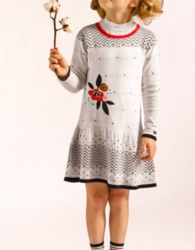 Catimini Graphic Knit Dress