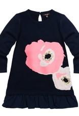 Imoga Sora Navy Floral Dress