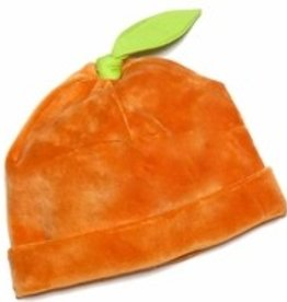 Kissy Kissy Velour Pumpkin Hat