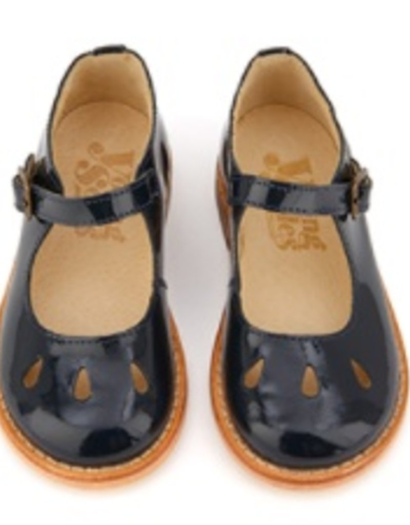 Young Soles June Navy Patent