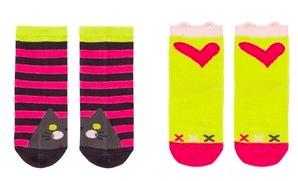 Chit Chat Socks 2pk