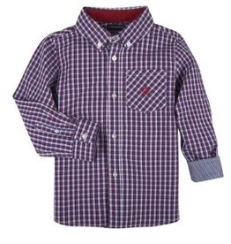 Andy & Evan Red & Navy Check Shirt
