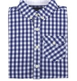 Andy & Evan Navy Gingham Shirt