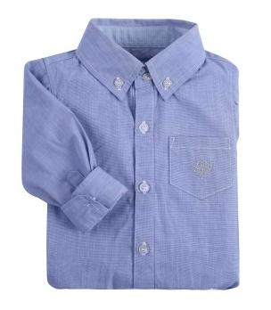 Andy & Evan Classic Blue Oxford