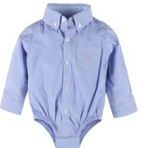 Andy & Evan Classic Blue Oxford Shirtzie