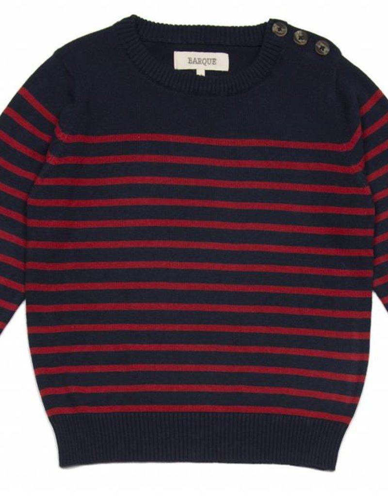 Breton Stripe Crewneck
