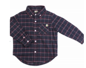 Hoonana Mountain Flannel Granite Shirt