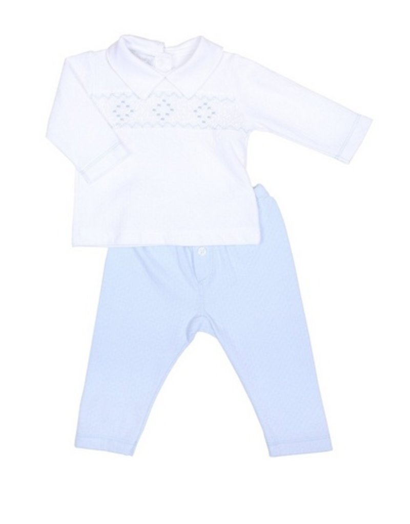 Magnolia Baby Oliver Smocked 2pc Pant Set