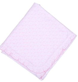 Magnolia Baby Juliana's Ruffle Blanket