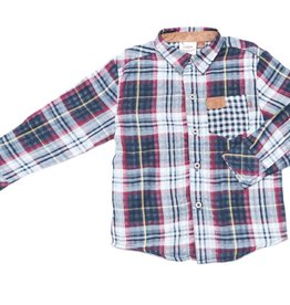 Fore Axel & Hudson Multi Plaid Shirt