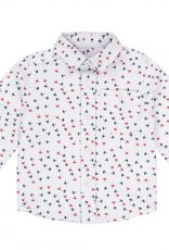 Pique Shirt w/ Airplanes