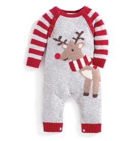 JoJo Maman Bebe Baby Reindeer Jumper