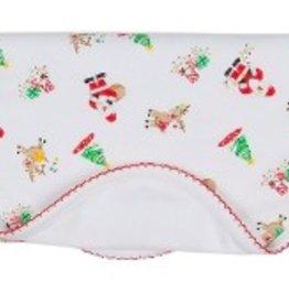 Kissy Kissy Santa's Helpers Print Blanket