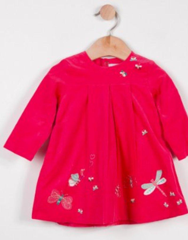 Catimini Camelia Embroidered Dress