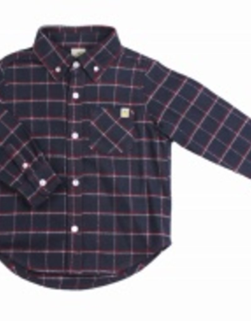 Hoonana Mountain Flannel Granite Shirt