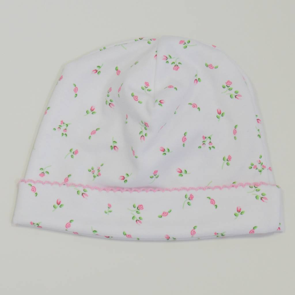 Kissy Kissy Garden Rose Print Hat